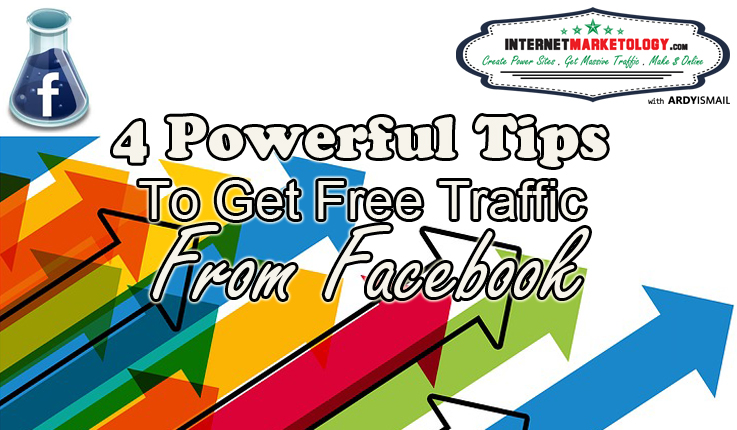 4 Tips to get Free Traffic from Facebook